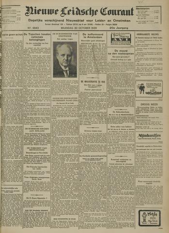 Nieuwe Leidsche Courant 1939-10-30