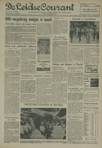 Leidse Courant 1960-10-13