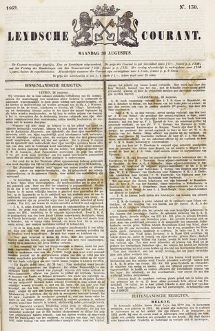 Leydse Courant 1869-08-30