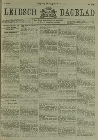 Leidsch Dagblad 1909-09-10