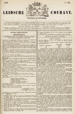 Leydse Courant 1872-11-27