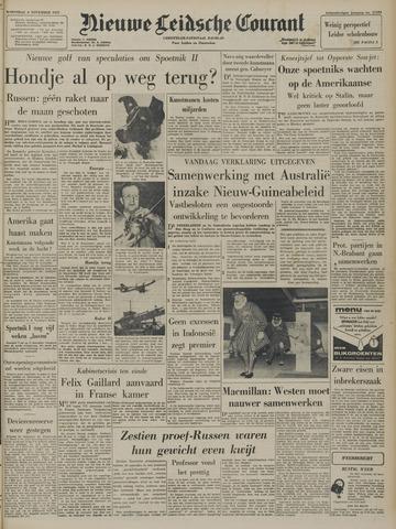 Nieuwe Leidsche Courant 1957-11-06
