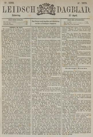 Leidsch Dagblad 1878-04-27