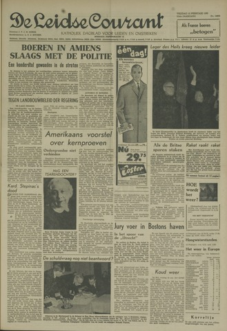 Leidse Courant 1960-02-12