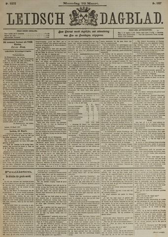 Leidsch Dagblad 1897-03-22