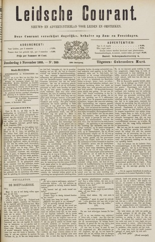 Leydse Courant 1885-11-05
