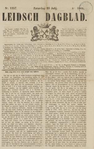 Leidsch Dagblad 1864-07-23