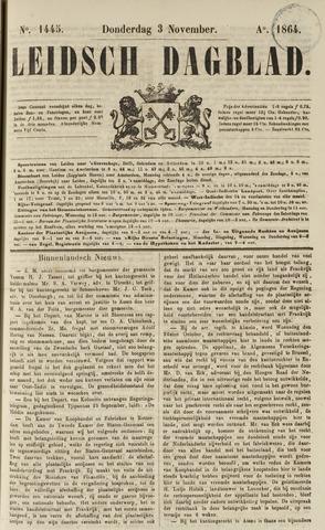 Leidsch Dagblad 1864-11-03