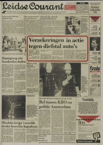 Leidse Courant 1989-02-04