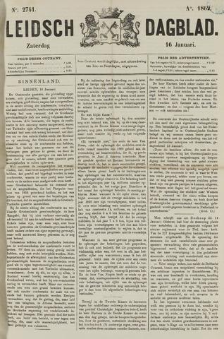 Leidsch Dagblad 1869-01-16