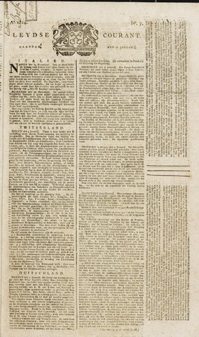 Leydse Courant 1814-01-17