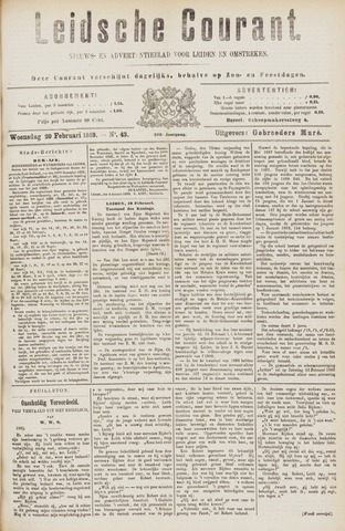 Leydse Courant 1889-02-20