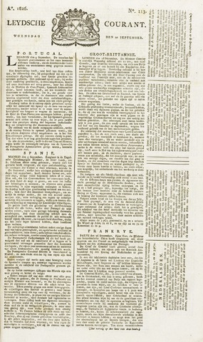 Leydse Courant 1826-09-20