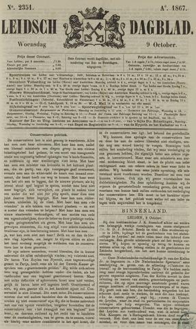 Leidsch Dagblad 1867-10-09