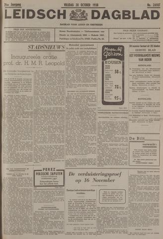 Leidsch Dagblad 1938-10-28