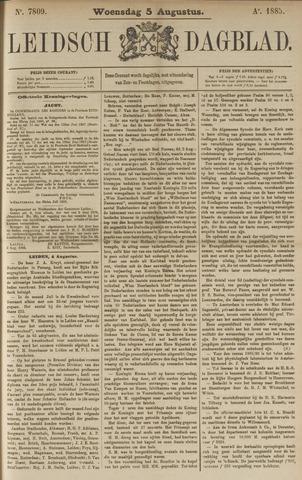 Leidsch Dagblad 1885-08-05