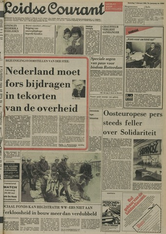 Leidse Courant 1981-02-07