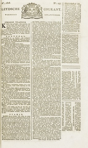 Leydse Courant 1826-11-15