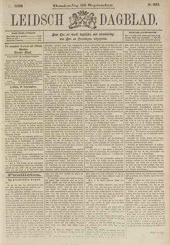 Leidsch Dagblad 1893-09-28