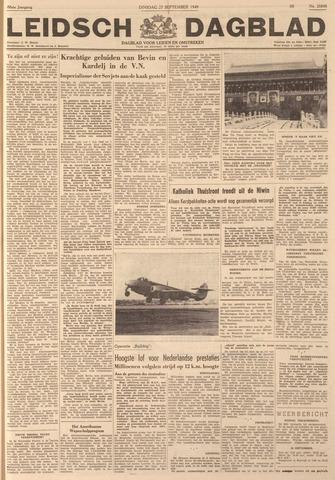Leidsch Dagblad 1949-09-27