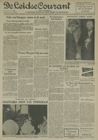 Leidse Courant 1961-11-04