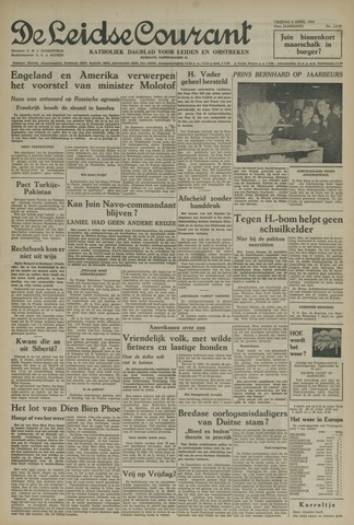 Leidse Courant 1954-04-02