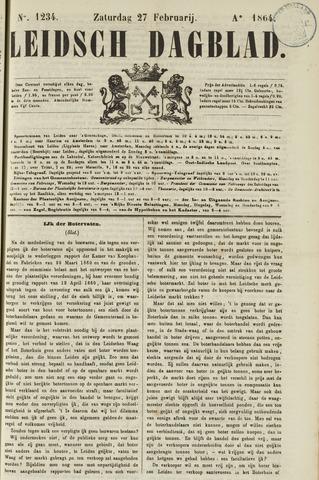 Leidsch Dagblad 1864-02-27