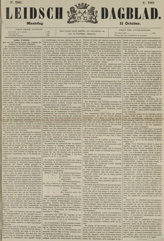 Leidsch Dagblad 1869-10-11