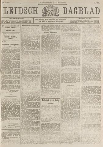 Leidsch Dagblad 1915-10-27