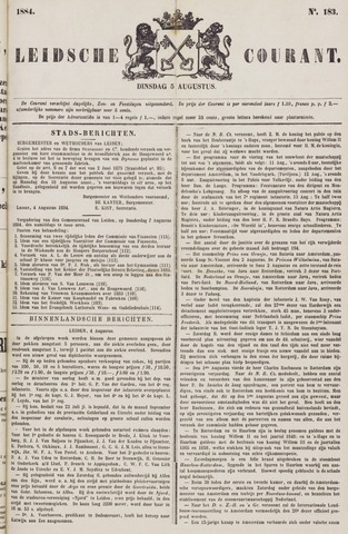 Leydse Courant 1884-08-05