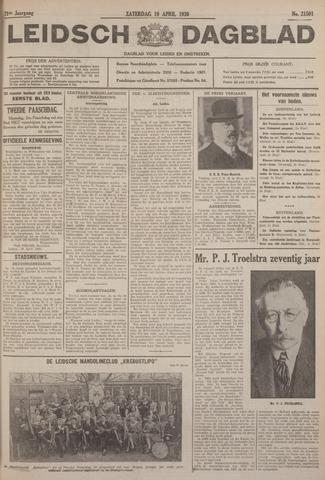 Leidsch Dagblad 1930-04-19