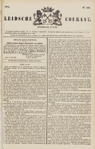 Leydse Courant 1884-06-19