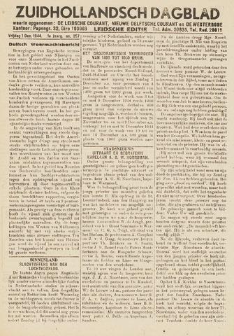 Zuidhollandsch Dagblad 1944-12-01