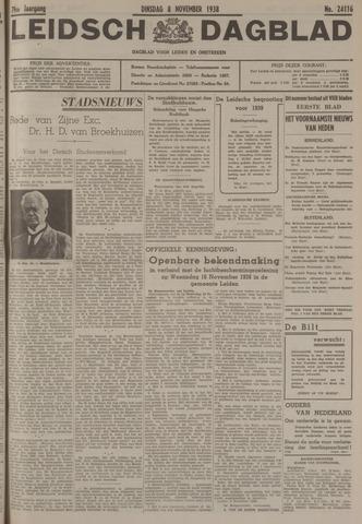 Leidsch Dagblad 1938-11-08
