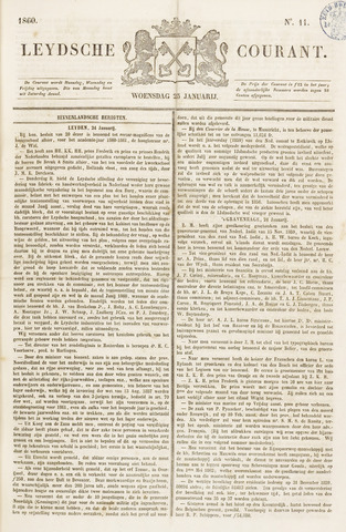 Leydse Courant 1860-01-25
