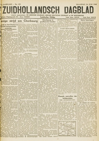 Zuidhollandsch Dagblad 1944-06-26