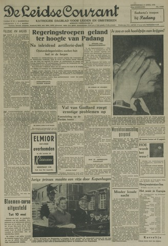 Leidse Courant 1958-04-17