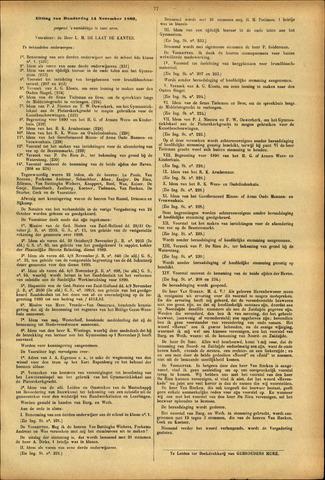 Handelingen van de Raad 1889-11-14