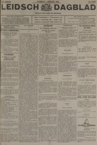 Leidsch Dagblad 1935-08-03