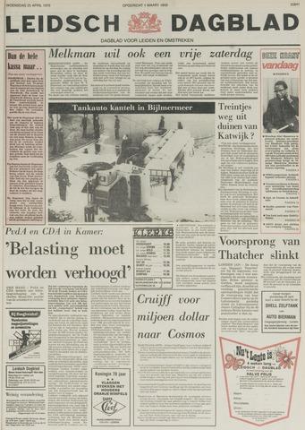 Leidsch Dagblad 1979-04-25
