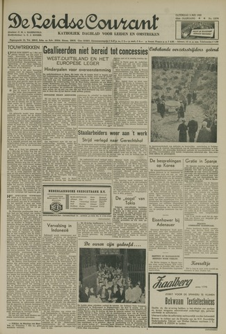Leidse Courant 1952-05-03