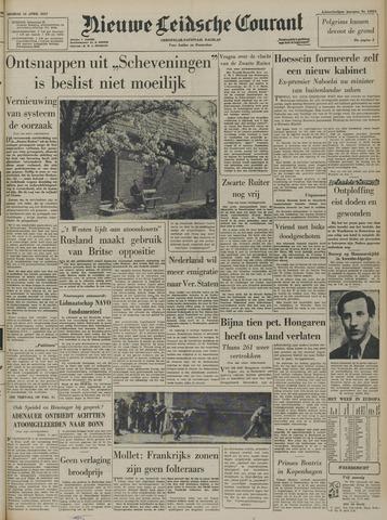 Nieuwe Leidsche Courant 1957-04-16