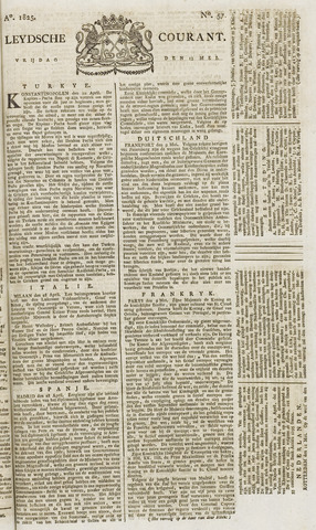 Leydse Courant 1825-05-13