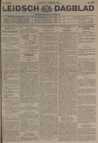 Leidsch Dagblad 1935-02-23