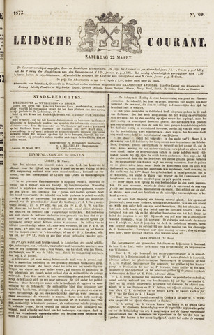 Leydse Courant 1873-03-22
