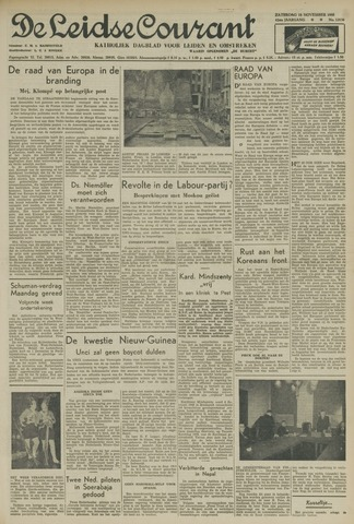 Leidse Courant 1950-11-18