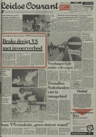 Leidse Courant 1987-07-21