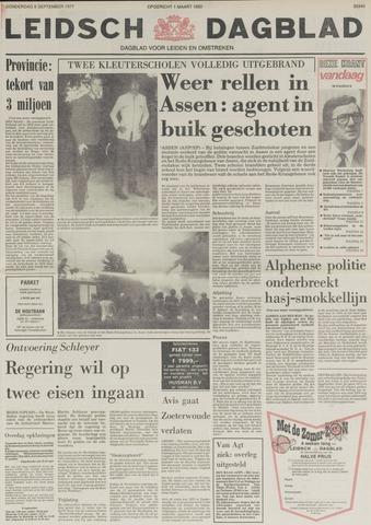 Leidsch Dagblad 1977-09-08