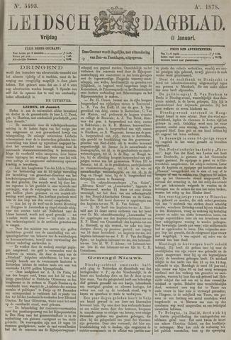 Leidsch Dagblad 1878-01-11