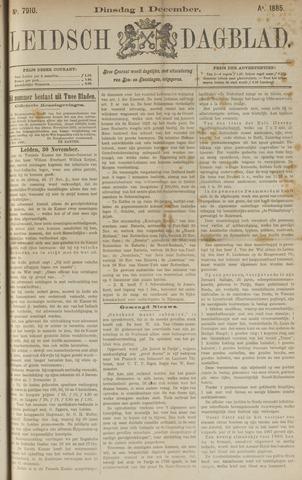 Leidsch Dagblad 1885-12-01